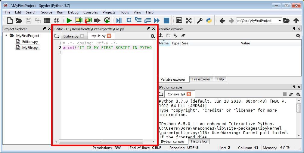 Vertabelo Academy Blog | How to Install the Python Spyder