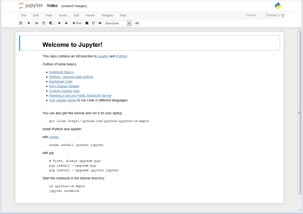Vertabelo Academy Blog | Jupyter Notebook – the Free Editor